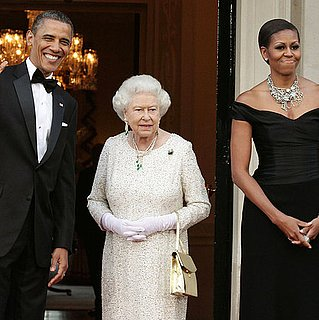 Michelle Obama Wears Ralph Lauren With Queen Elizabeth