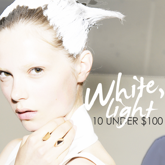 Lighten Up — 10 Super Chic White Pieces Under $100
