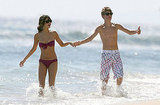 Shirtless Justin Bieber and Bikini-Clad Selena Gomez Go All Out With Their PDA!