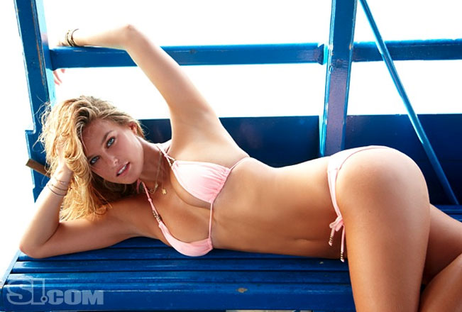 Bar Refaeli struck another pose for the 2010 Sports Illustrated Swimsuit Edition.