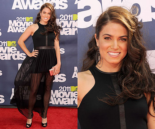 Nikki Reed at 2011 MTV Movie Awards 2011-06-05 17:46:46