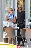 Ryan Seacrest and Julianne Hough Show Their Love Off Around Miami All Weekend Long