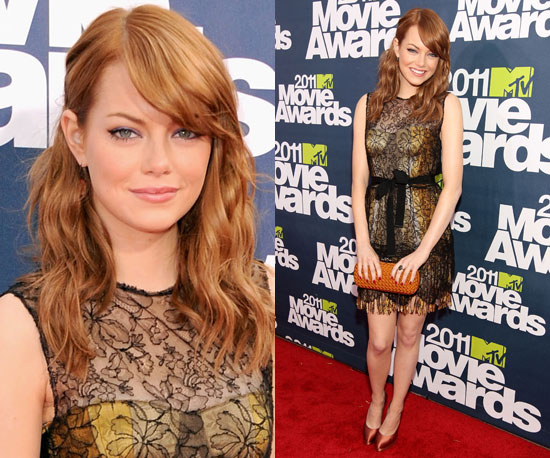 Emma Stone at 2011 MTV Movie Awards 2011-06-05 18:29:20