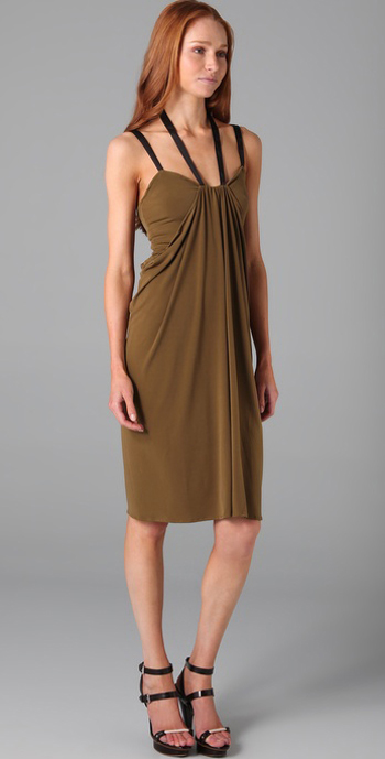 Factory Draped Dress Shopbop, $160