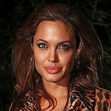 Angelina was bronzed and beautiful at a movie premiere in 2004.