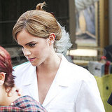Emma Watson Gets Dressed Up and Decked Out to Be a Wallflower