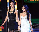 Jessica Alba and Vanessa Hudgens were presenters in 2010.
