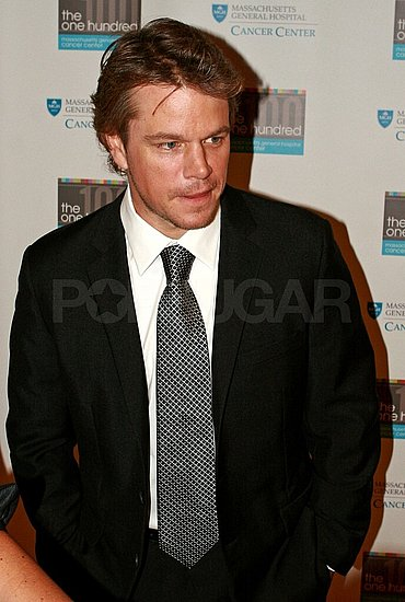 Matt Damon Steps Out to Talk About Father's Illness and Support MA Cancer Center