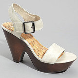 Buckled Catherine Platforms, Fred Flare, $48
