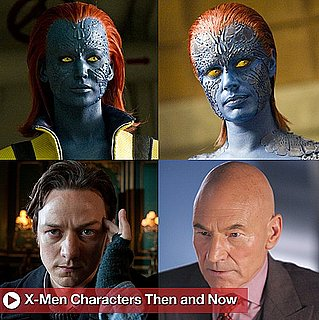 Sugar Shout Out: Mutant Yearbook: X-Men Characters Then and Now