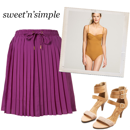 Swimsuit Styling: Sweet