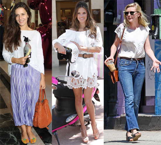 Fab's Top 10 Celebrity Looks of the Week — Kirsten, Alessandra, Sienna, and More!