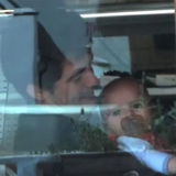 Video of Orlando Bloom and Baby Flynn in LA, Miranda Kerr Working in South Korea