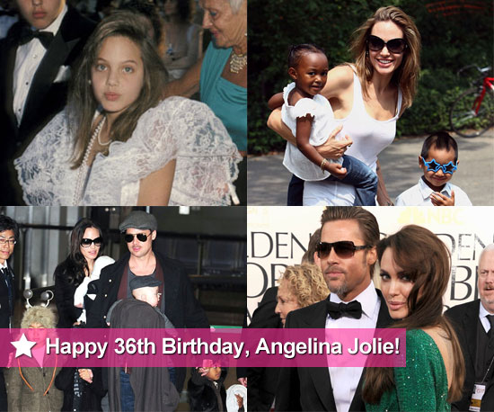 Happy 36th Birthday, Angelina Jolie!