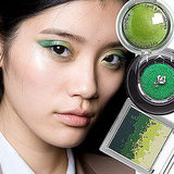 Green Gleam   Super-saturated, shimmery green tones were all the rage at the Jason Wu Spring 2011 show. Models sported two-tone washes — colorblock for the eyes, if you will. Use a lighter shade in the inside corner to make eyes appear extra-wide.   From top to bottom: Palladio Baked Eyeshadow in Green Apple, $7; Lancome Color Design Sensational Effects Eye Shadow in Montage, $17; Sue Devitt Hydrating Marine Minerals Destination Eye Palette in Green Isle, $38