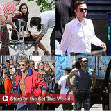 Robert Pattinson, Marion Cotillard, Russell Brand, and More in Stars on Set This Week!