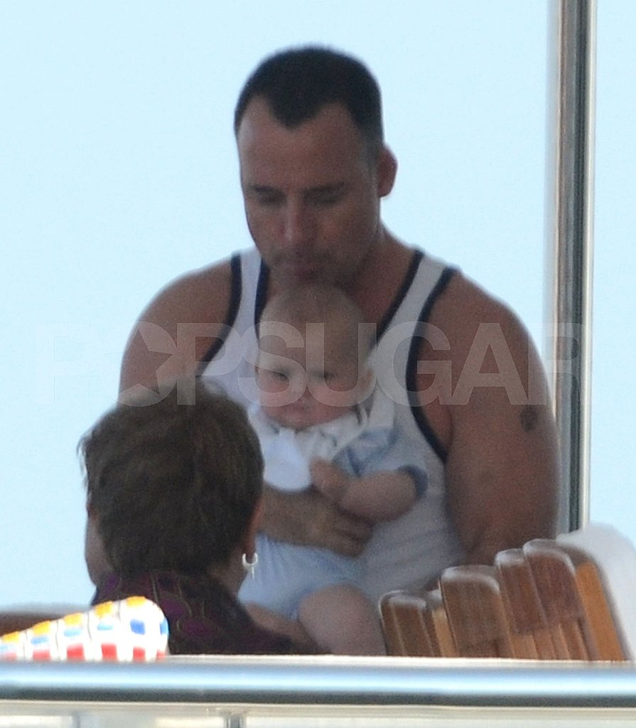 Elton John and David Furnish Show Baby Zachary the Joys of Yacht Life!