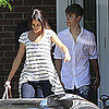 Pictures of Selena Gomez in Canada With Justin Bieber