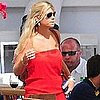 Chelsy Davy Pictures at Lunch in Ibiza