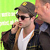 Robert Pattinson Arriving in LA