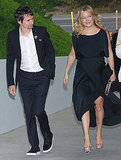 Pregnant Kate Hudson Steps Out in Sky-High Heels With Matt For Chanel