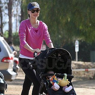 Miranda Kerr and Flynn Bloom Hiking Pictures