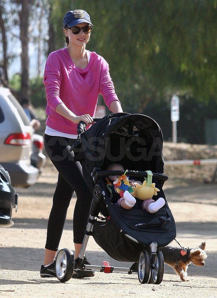 Miranda Kerr Heads Out on a Weekend Hike With Flynn and Frankie