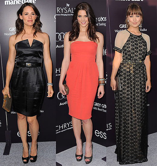 Social Butterflies Jennifer Garner, Ashley Greene, Olivia Wilde, and More Have a Ball!