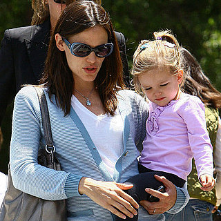 Jennifer Garner, Seraphina, and Violet Out in LA