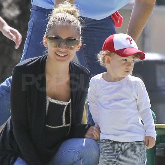 Nicole and Joel Enjoy the California Sunshine With Tots Harlow and Sparrow