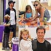 Ryan Phillippe and Deacon Phillippe Photos at Kidstock