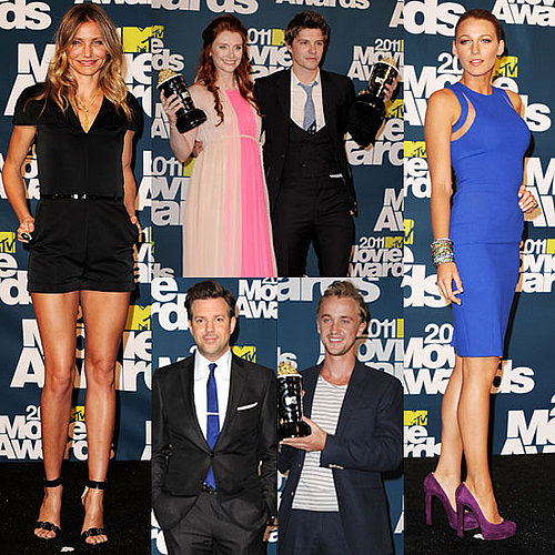 Photos de Blake Lively et Cameron Diaz aux MTV Movie Awards 2011