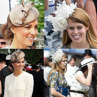 Kate Middleton and Princess Beatrice in Hats 2011-06-06 08:46:41