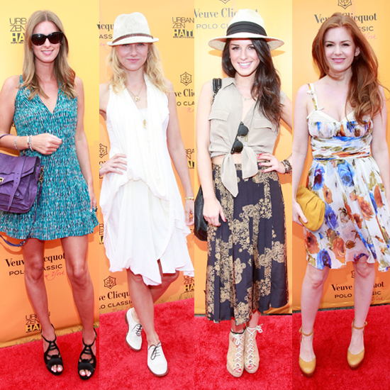 Going With the Flow at Veuve Clicquot Polo Classic