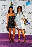 Joy Bryant and Rachel Roy