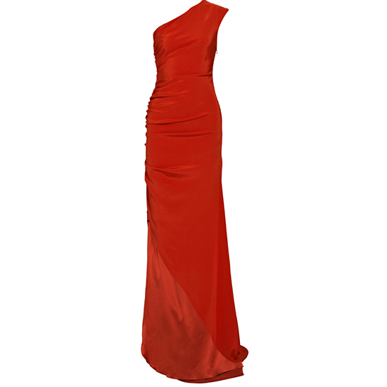 Prabal Gurung Asymmetric Silk Crepe Dress, $3,650