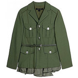 Marc Jacobs Military Jacket With Frill, $1579