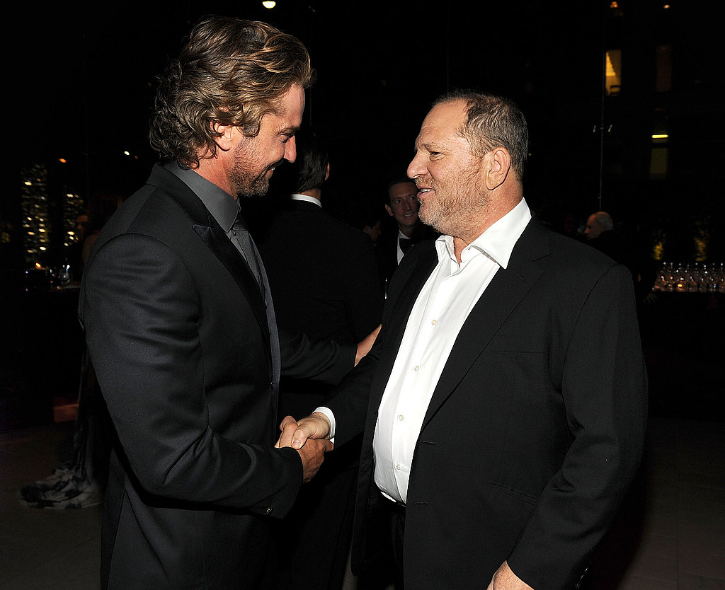 Gerard Butler, Harvey Weinstein