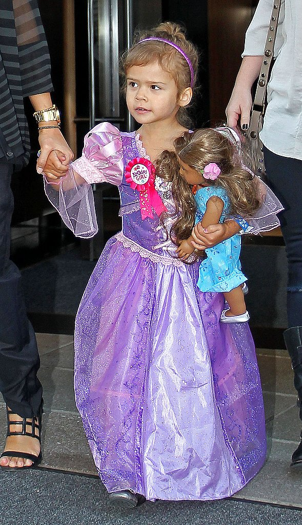Honor Warren Makes a Pretty Princess on Her Third Birthday With Jessica and Cash