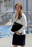 Isla Fisher Gets Down to Business at Coney Island