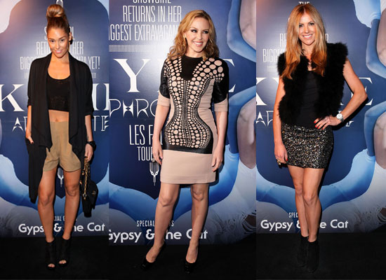 Kylie Minogue Attends Party Hosted by Warner Music in Sydney for Aphrodite Tour: Scope the Celebrities Who Turned Up!