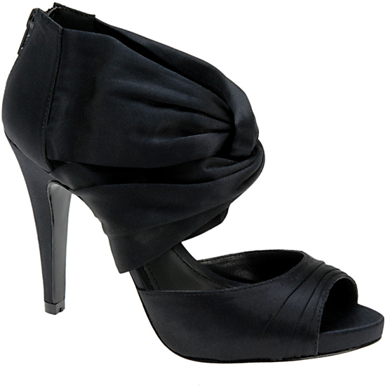 Laforest Satin Peep Toe, $90