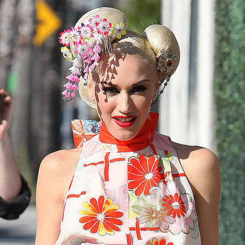 Gwen Stefani in Harajuku Style at Her Japan Fundraiser in LA