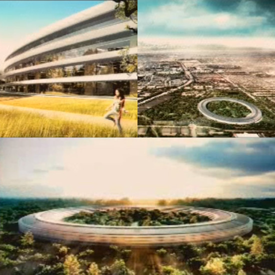 Pictures of Steve Jobs' Spaceship Campus