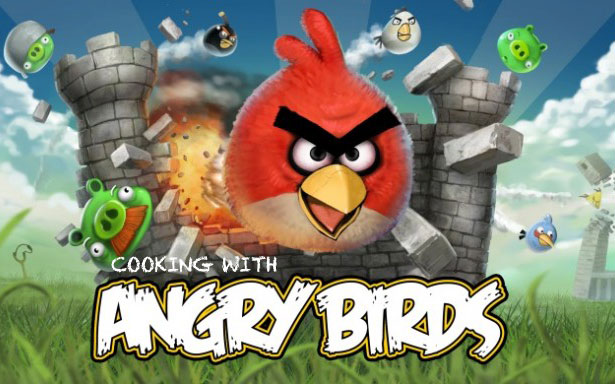 Rovio to Release Angry Birds Cookbook