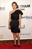 Natalie Portman in Lanvin For H&M at the 2011 Gotham Independent Film Awards