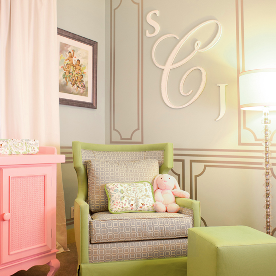 A Sneak Peek Into Laila Ali's Whimsical Nursery