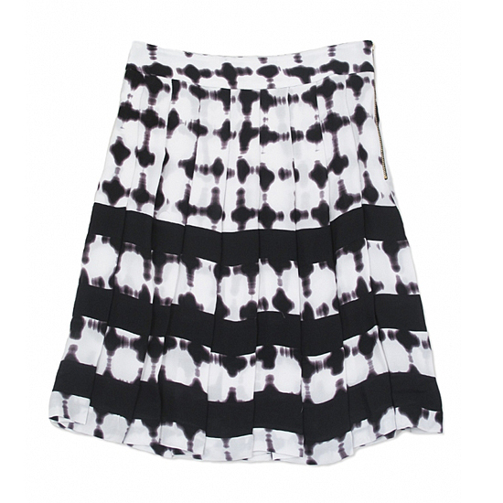ALC Pleated Print Skirt, $298