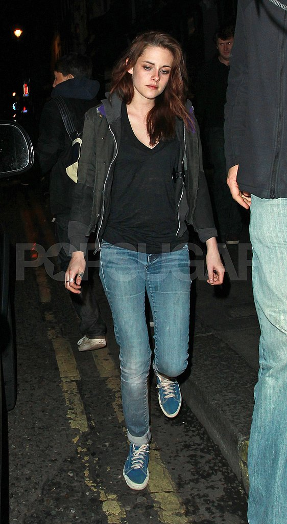 Kristen Stewart Has a Night Out in London With Sienna, Tom, and Garrett!