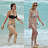 Bikini Pictures of Aimee Teegarden and Gillian Jacobs